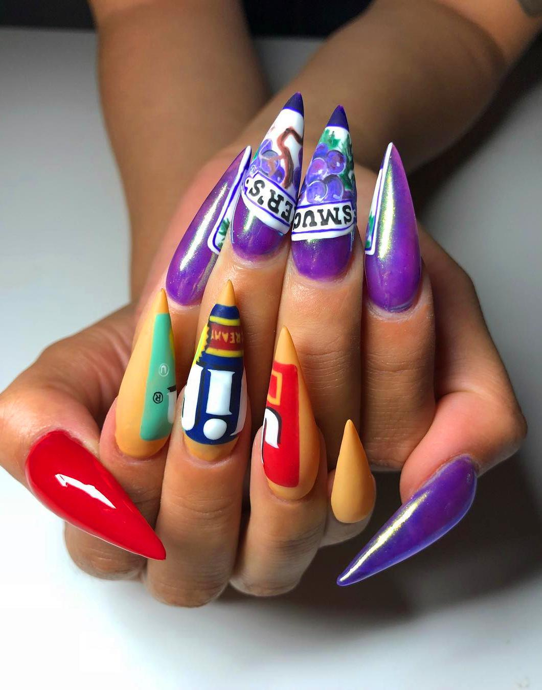 30+ Top Acrylic Nails To Try Now