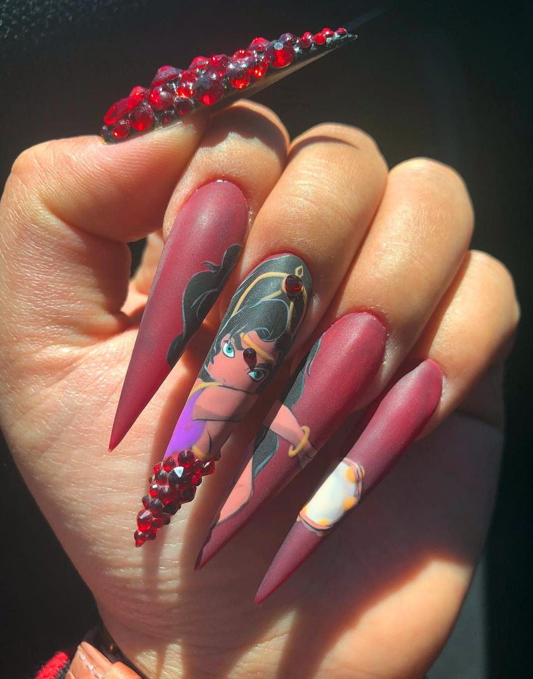 10+ Acrylic Nails To Inspire Yourself