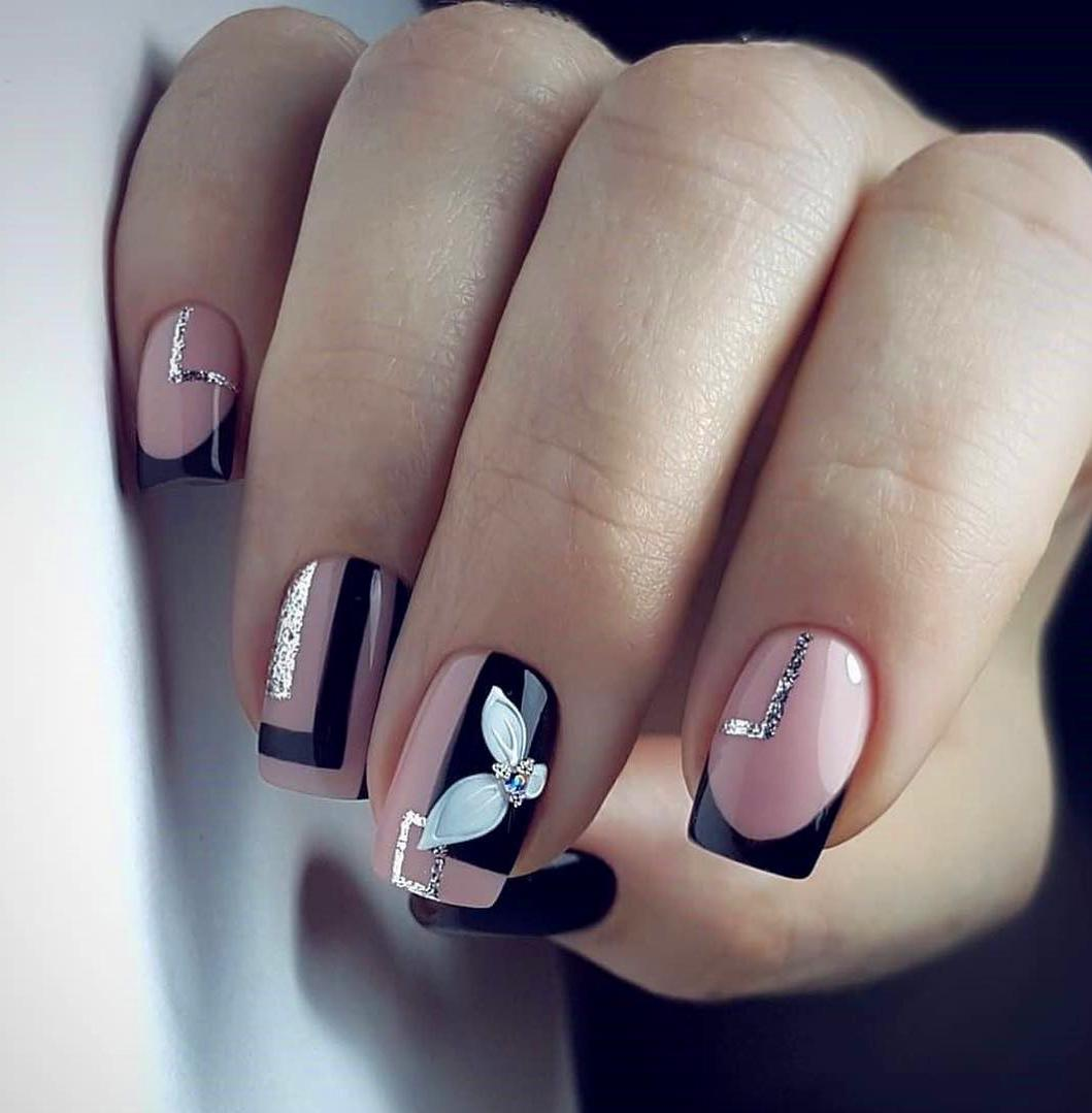Top 55 Easy Nail Designs For Short Nails
