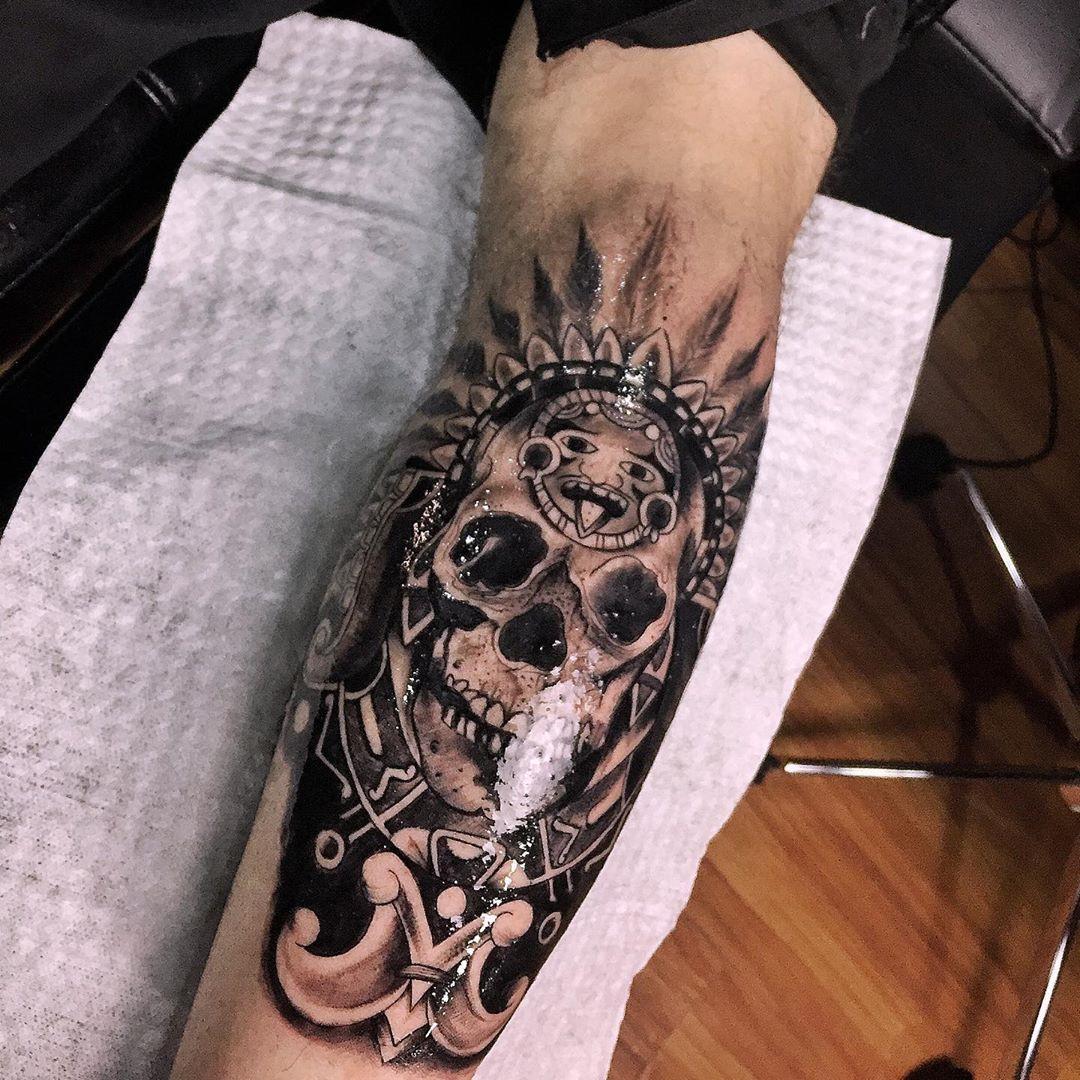 35 Unique Skull Tattoo Designs For Men and Women