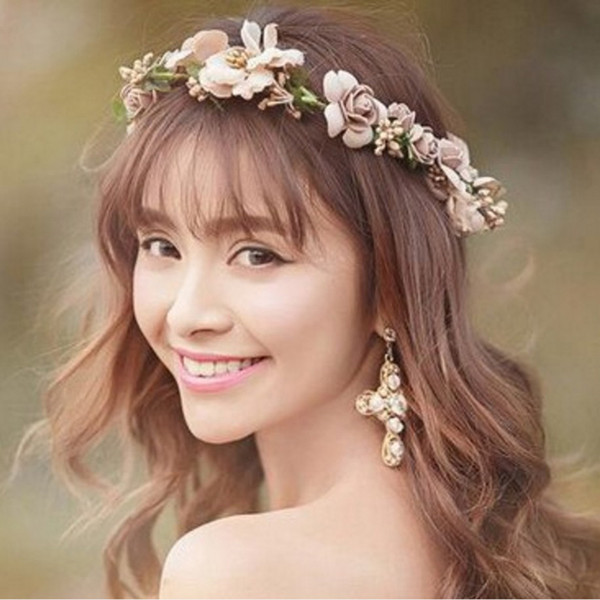 32 Attractive Flower Wedding Hairstyles To Get Inspired