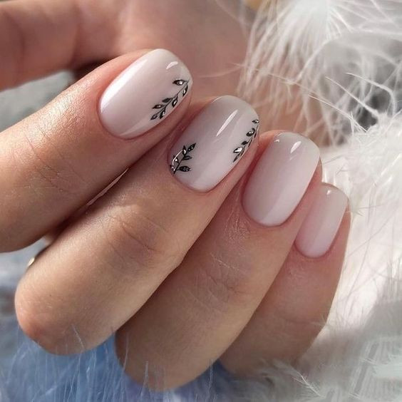 50+ Trendy Winter Nail Art Ideas For 2019