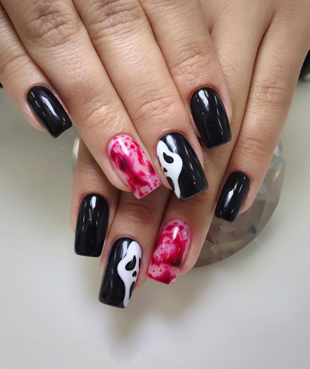 52 Pretty Nail Art Designs for Short Acrylic Nails
