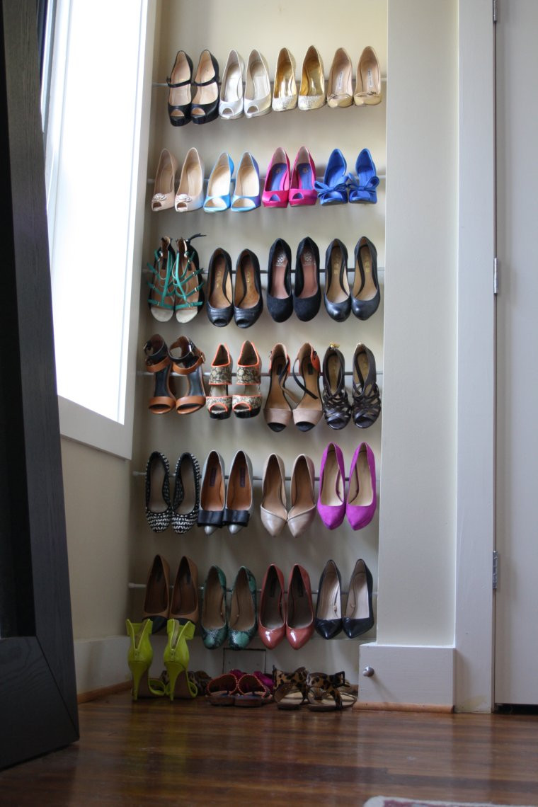 38 Best Simple DIY Shoe Racks You'll Want To Make