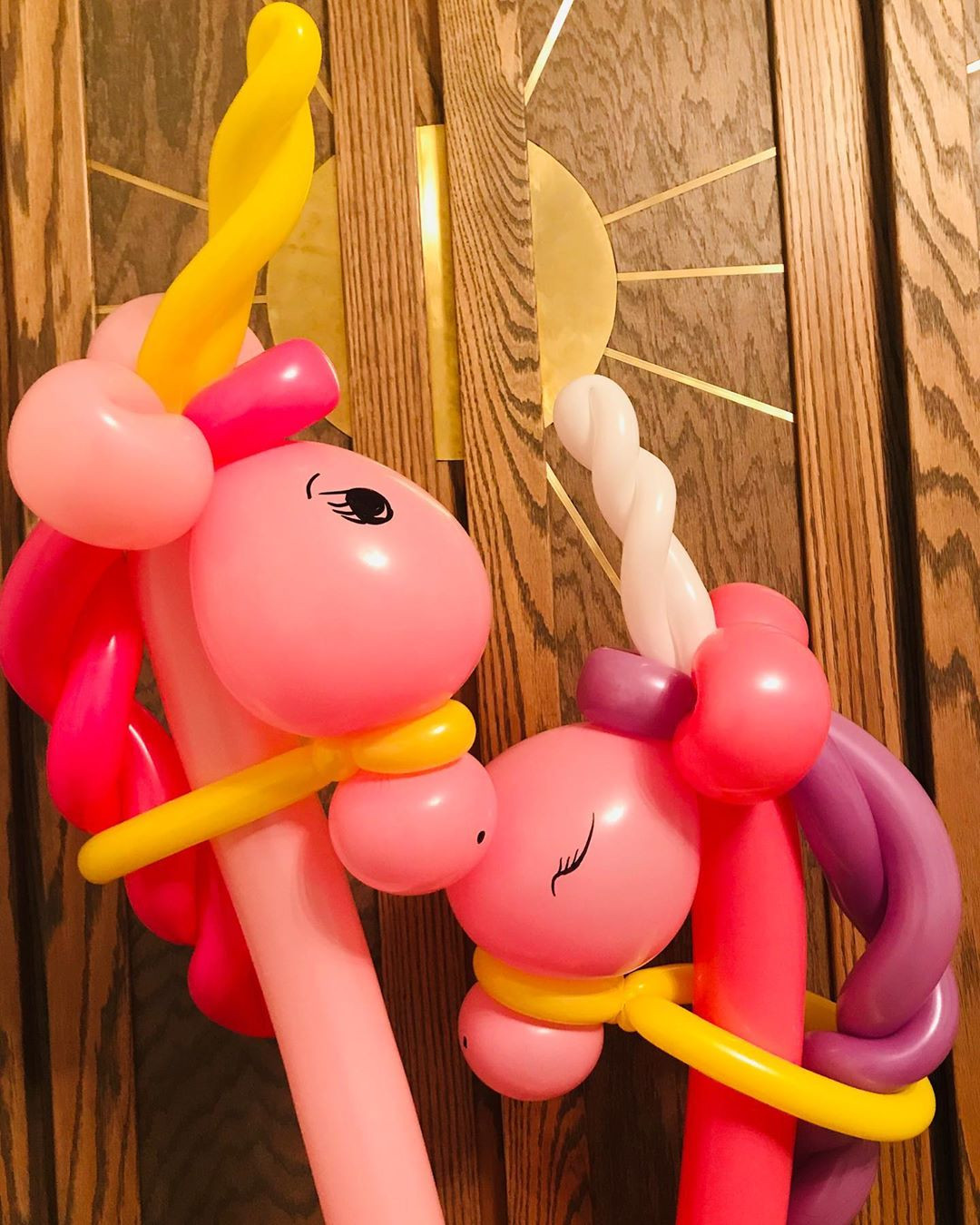 55 Unicorn Balloons for Birthday Party Decorations