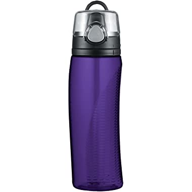 Thermos Intak 24 Ounce Hydration Bottle with Meter, Purple