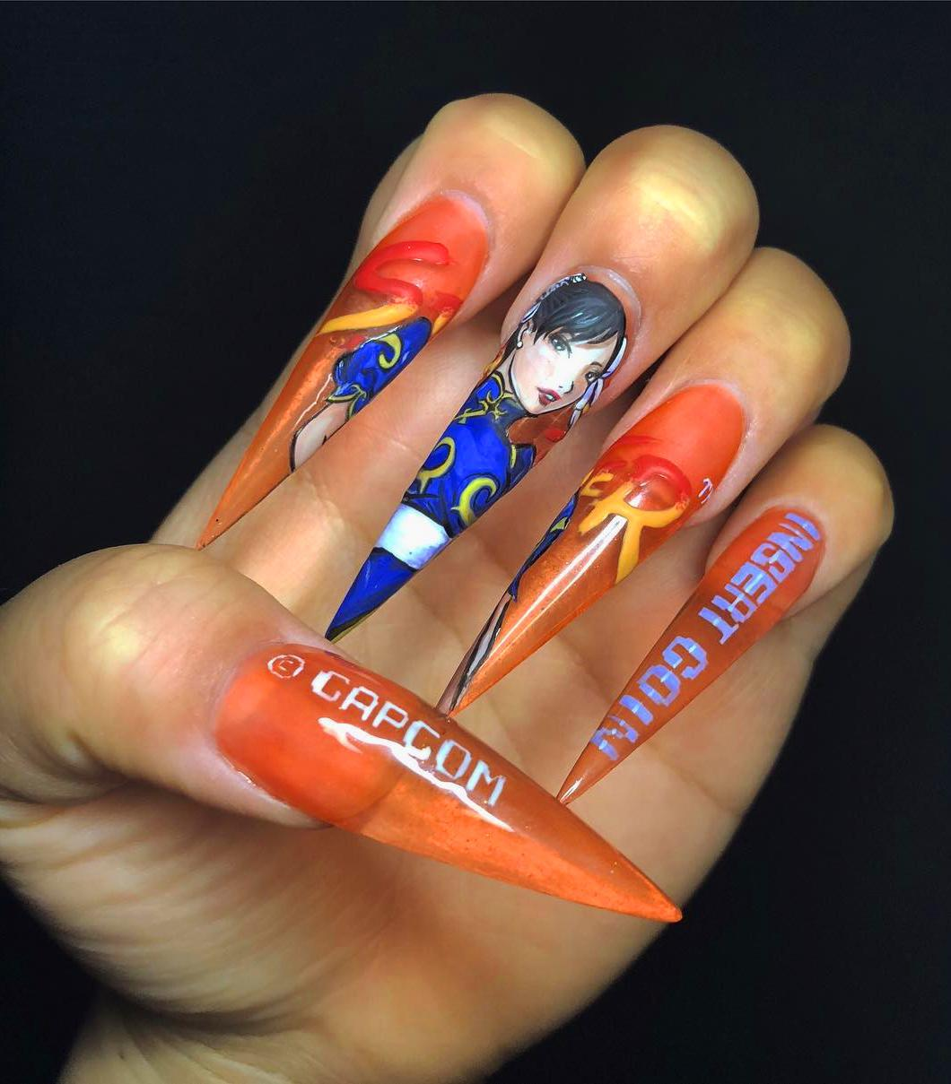 10+ Beautiful  Acrylic Nails To Stand Out From The Crowd