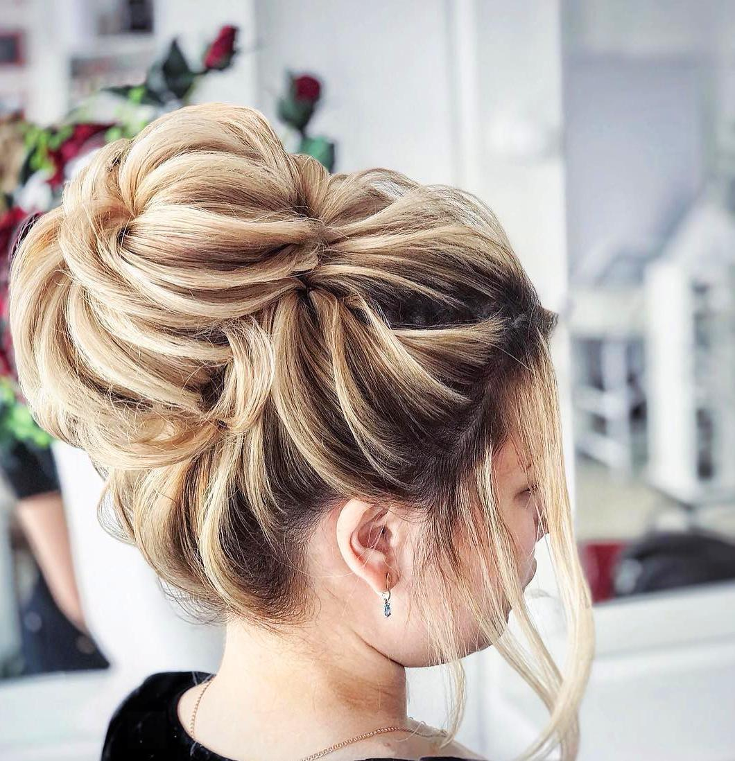 Elegant Prom Updo Wedding Hairstyles