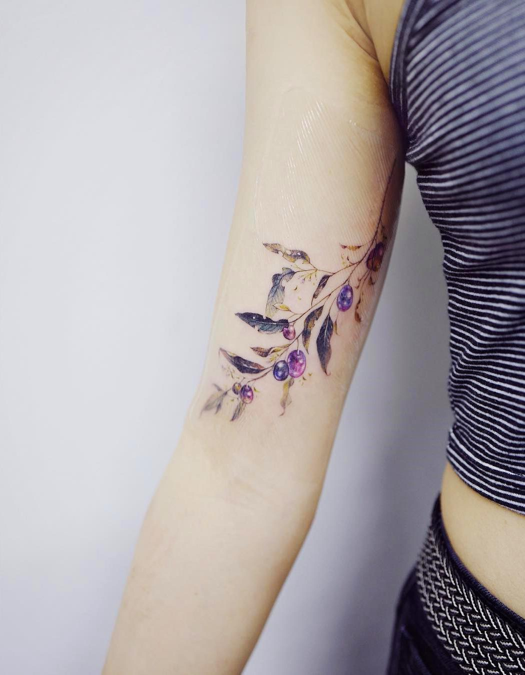 80 Gorgeous Looking Watercolor Tattoo Ideas