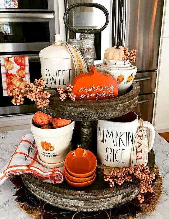 75+ Ways To Decorate Your Tiered Tray For Halloween
