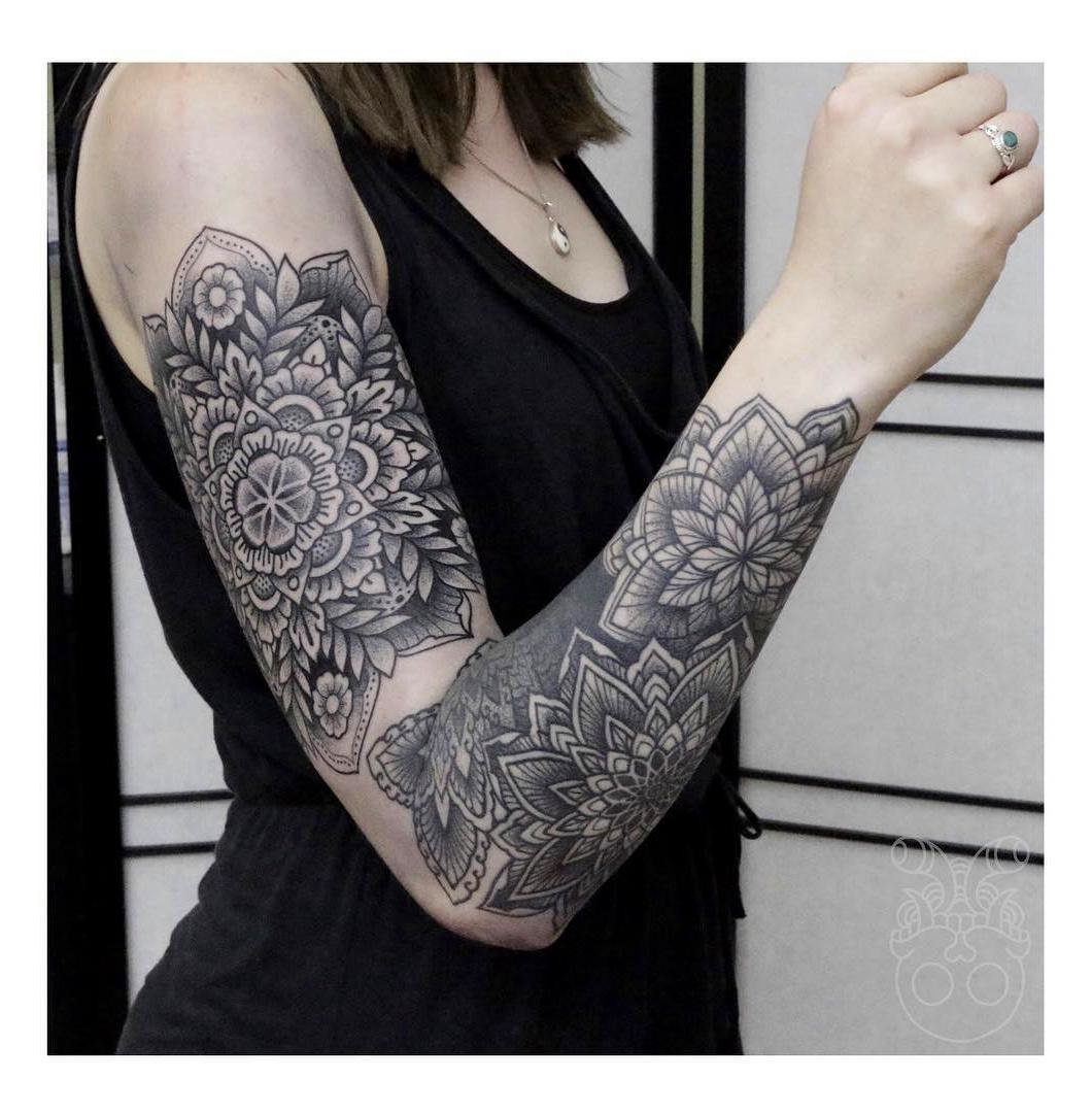 85+ Fascinating Sleeve Tattoos Design Ideas For Men and Women #SleeveTattoos #TattoosWomen #TattoosMen