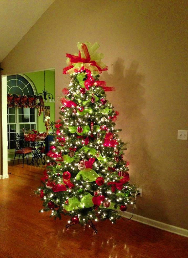 65+ Pretty DIY Christmas Tree Decor Ideas #Christmas #ChristmasTree