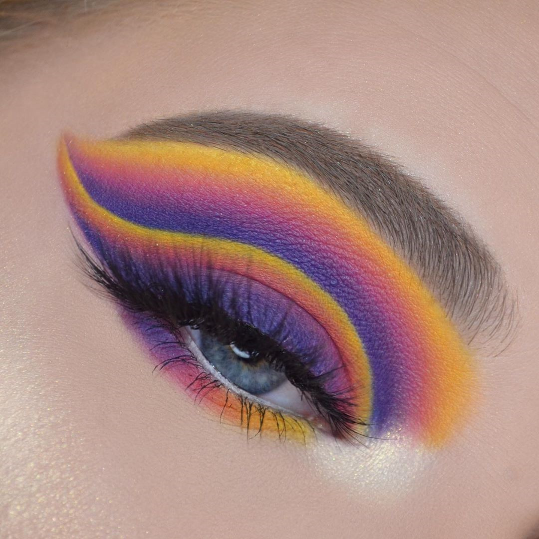 40 Pretty Rainbow Makeup Ideas