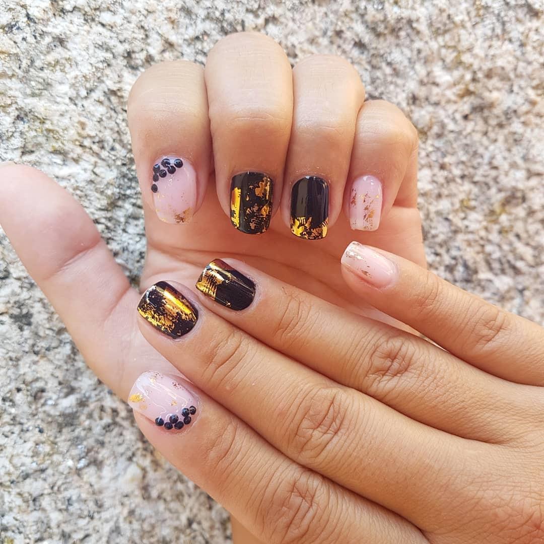 52 Gorgeous Nail Art Designs Ideas For Short Nails #Nails #ShortNails