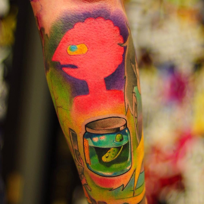 58 Beautiful Watercolor Tattoos Art Ideas