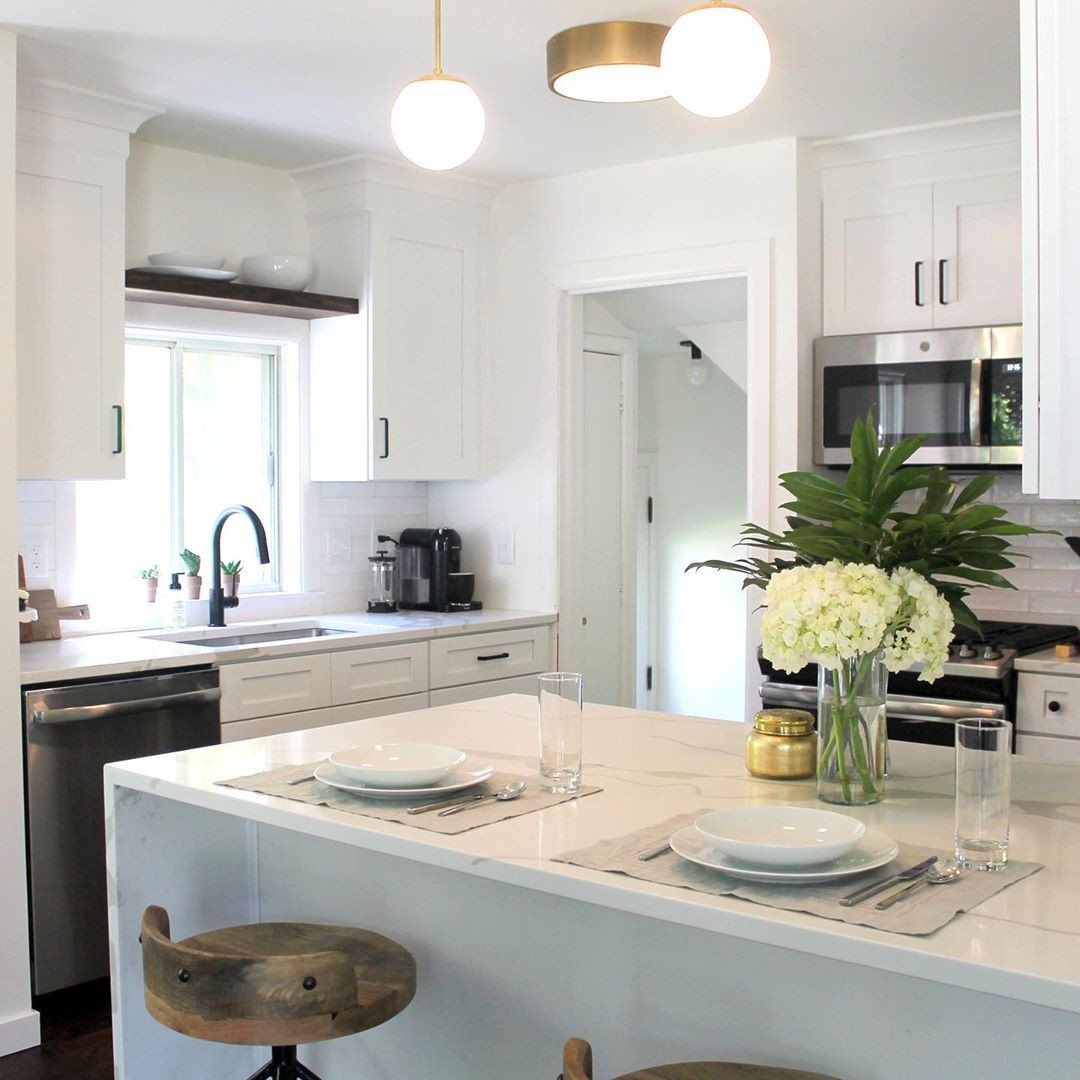 White Kitchen Design Ideas for Modern Home,modern white kitchens,modern white kitchens 2019,modern white kitchens 2020,small white kitchens
