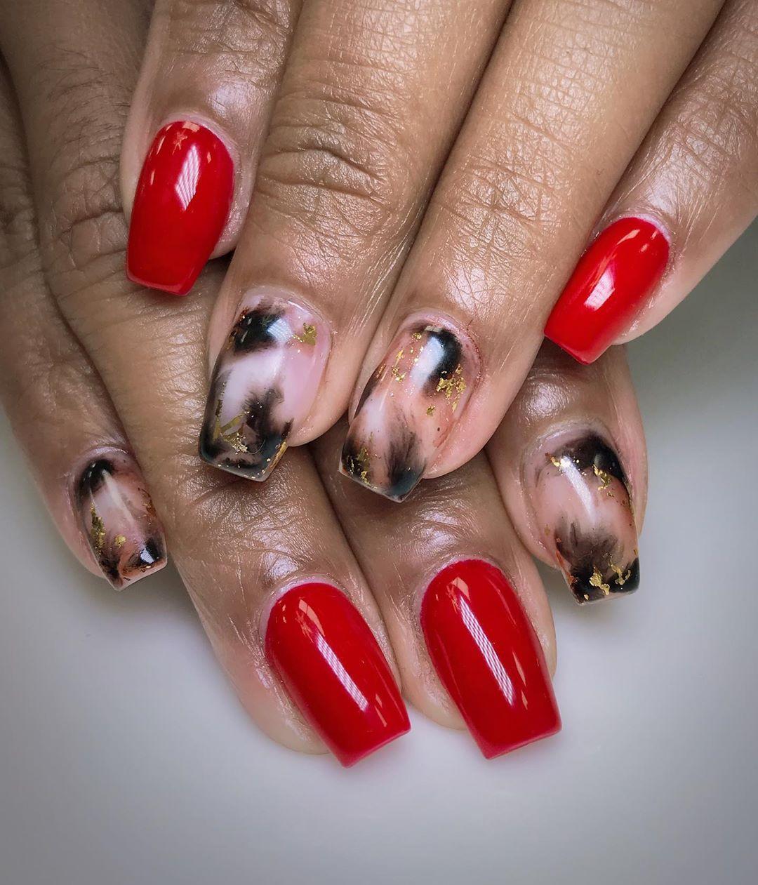 Pretty Nail Art Designs for Short Acrylic Nails,short acrylic nails coffin,short acrylic nails square,acrylic nail designs for spring,short acrylic nails almond