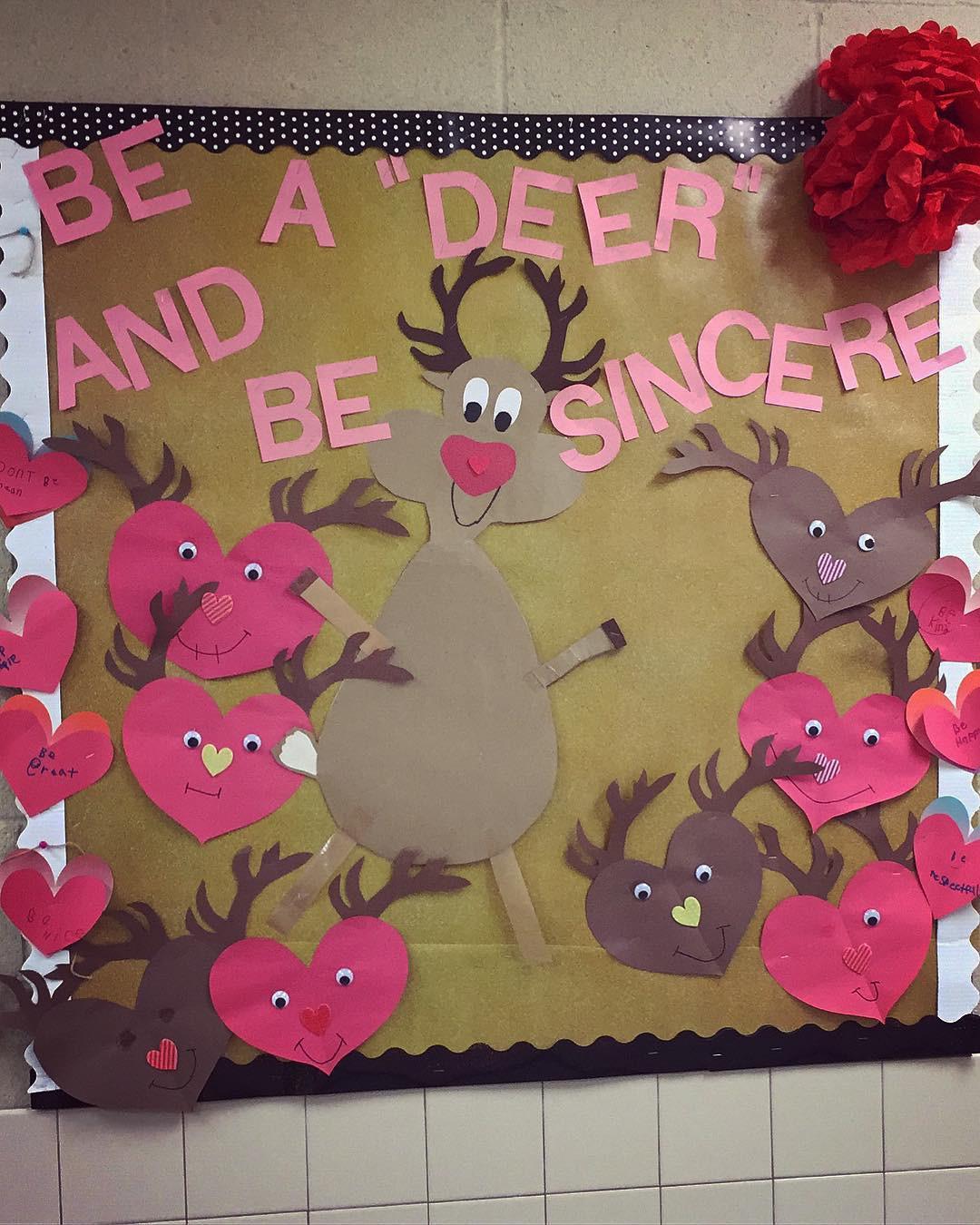 23 Valentines Day Bulletin Board Ideas,valentine's day bulletin board ideas for workplace,winter bulletin board ideas,unique bulletin board ideas