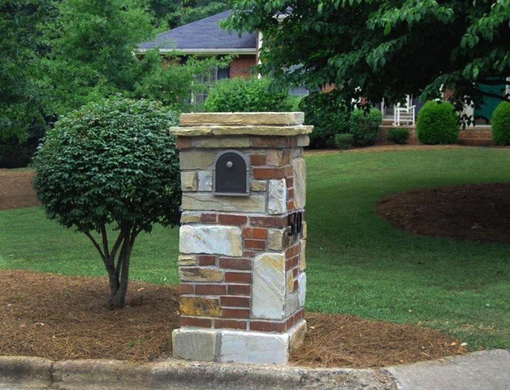38 Adorable Stone Mailbox Ideas and Designs for 2020