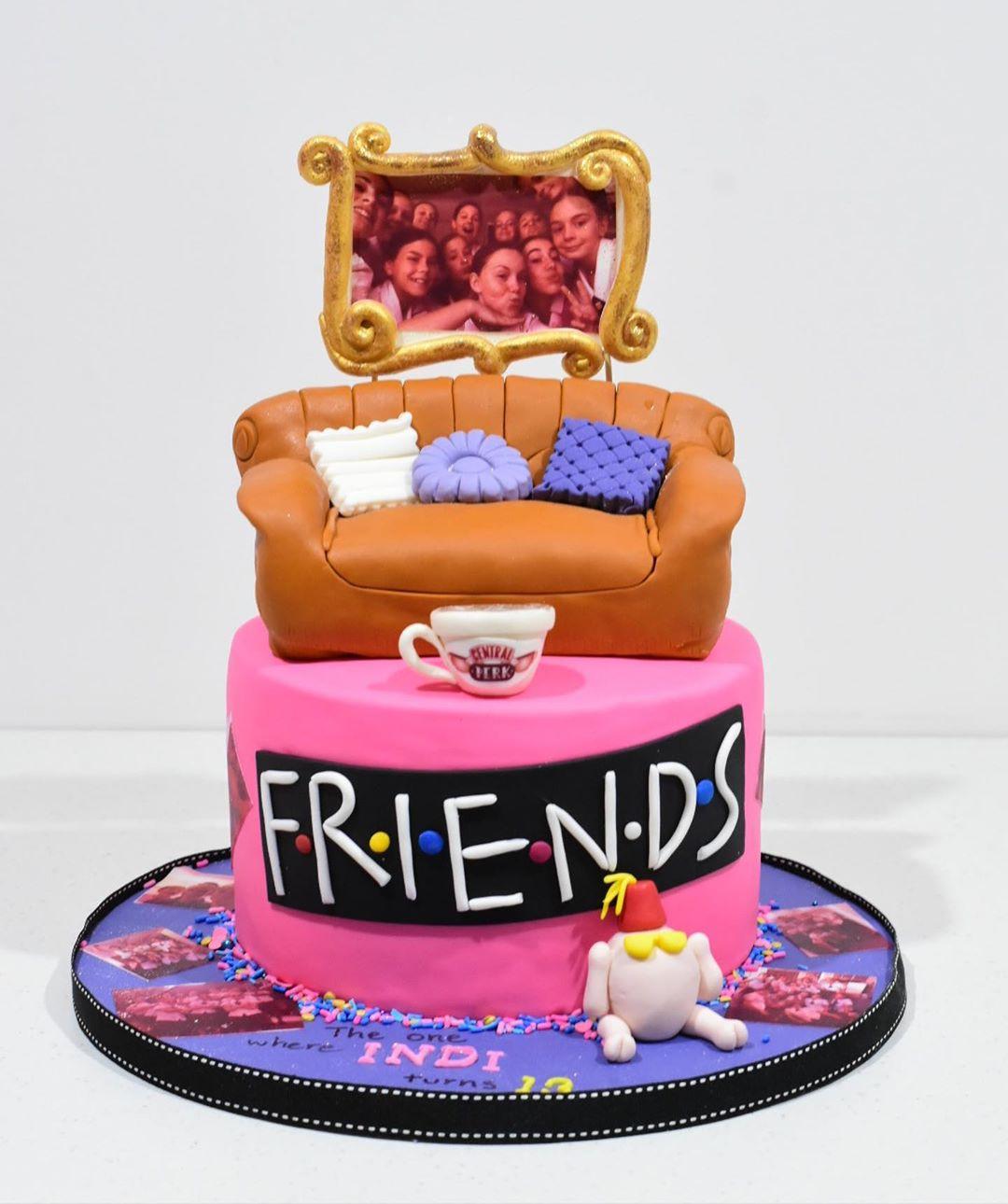48 Super Tv Shows Birthday Friend Cake Ideas,friends cake decorations,friends birthday cake topper,friends themed cake decorations