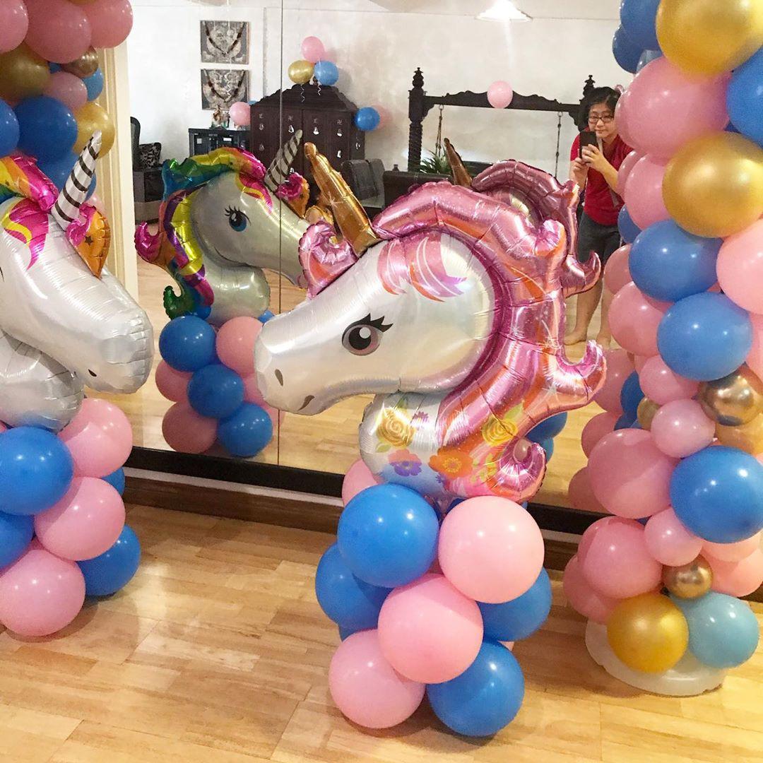 55 Unicorn Balloons for Birthday Party Decorations,unicorn balloons walmart,party city unicorn balloon bouquet,unicorn balloon diy