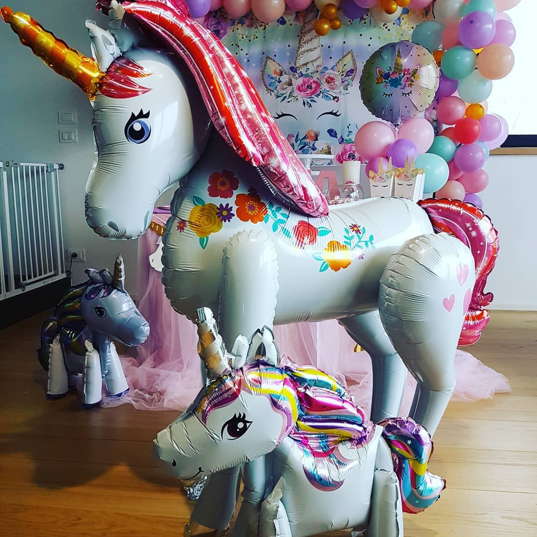 55 Unicorn Balloons for Birthday Party Decorations,unicorn balloons walmart,party city unicorn balloon bouquet,unicorn balloon diy