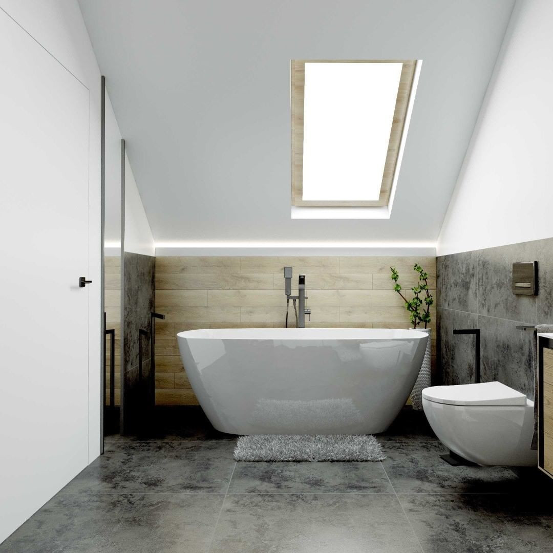50 Attic Bathrooms To Inspire Your Next Renovation Flippedcase