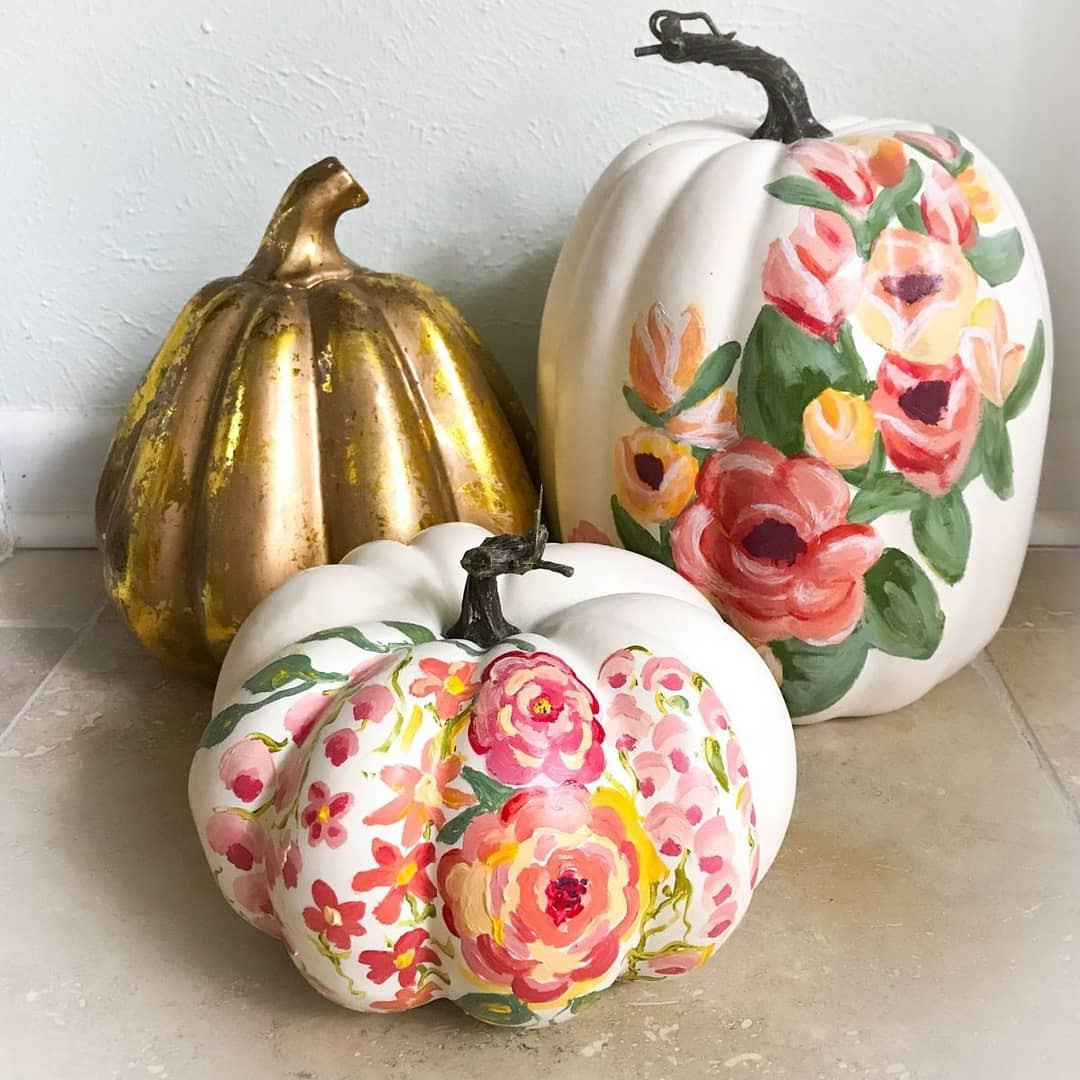42 Easy Painted Pumpkins To Diy This Halloween Flippedcase